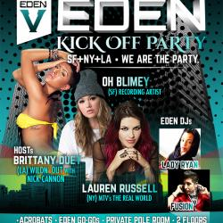 EDEN Kickoff Party