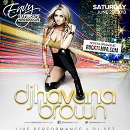 HAVANA BROWN LIVE Performance & DJ Set along w BRAZIL BEACH BIKINIS SUMMER FASHION SHOW