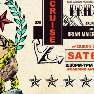 MEN AT SEA / A DUDES DAYTIME CRUISE FOR PRIDE w/ FREE BRUNCH / djs BRIAN MAIER (SF) & KING OF PANTS