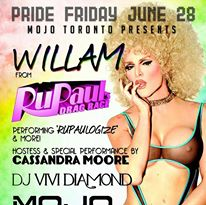 WILLAM BELLI at MOJO Lounge || PRIDE FRIDAY JUNE 28