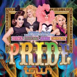 PRIDE! with The stars of season six of RuPaul's Drag Race Bianca Del Rio, Darienne Lake, Adore Delano, & Courtney Act