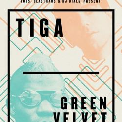 TIGA + GREEN VELVET -- April 16th