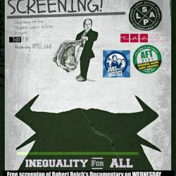 "Film Screening ""Inequality For All"""