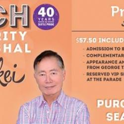Seattle Pride Brunch with Celebrity Grand Marshal George Takei