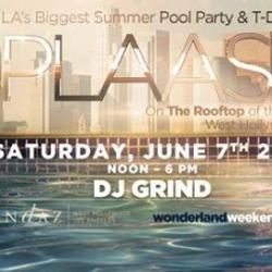Wonderland Weekend 2014: SpLAsh Rooftop Pool Party