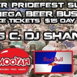 Denver Pride Beer Bust 2014:  DJ Craig C. & DJ Shane Stiel