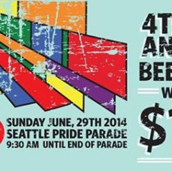 4th & Bell Seattle Pride Beer Garden