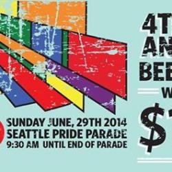 4th & Bell Seattle Pride Beer Garden