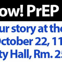 PrEP Now! PrEP For All! Hearing at the Board of Supervisors this Wednesday