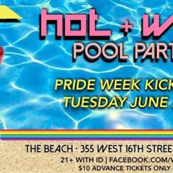 WHITNEY DAY Presents ** HOT & WET ** A POOL PARTY KICK-OFF for PRIDE 2014!