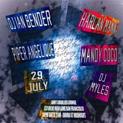 High Fantasy Dance & Drag with guest DJs Ian Bender, Harlan Mann + a show with Mandy Coco, Piper Angelique and DJ Myles
