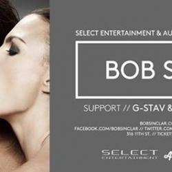 BOB SINCLAR | SELECT Entertainment | Audio Thursday August 28th