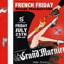French Friday Rouge Masquerade | The Grand Marnier Soirée