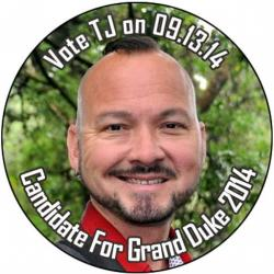 Candidate For Grand Duke 2014 TJ Wilkinson - Kick Off Party!!!!