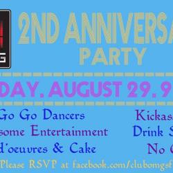 OMG 2nd Anniversary Party