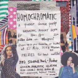 Homochromatic: Polka Dots Vs. Stripes!!
