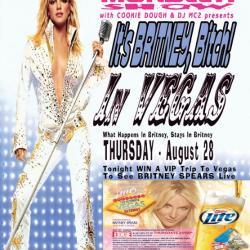 It's Britney In Vegas Bitch - Win 4 VIP Tickets / Airfare / Hotel To Vegas
