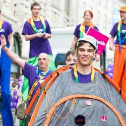 Pride In London!  (Scout Associations Attendance)