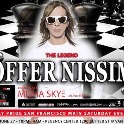 ❤OFFER NISSIM  ❤ Gay pride San Francisco ❤ main event  ❤