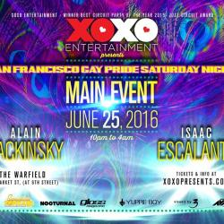 XOXO presents San Francisco Pride