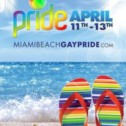 Miami Beach Gay Pride 12th Street Dance Stage