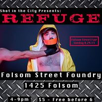 ❏❑❒❏❑❐ Shot In The City Presents::: REFUGE-Folsom Street Sunday PHOTOBOOTH ❏❑❒❏❑❐