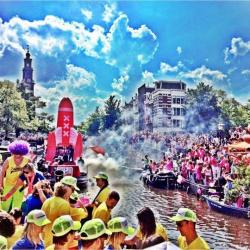 We ❤️ Gay Pride Canal Parade 2016 - EURO PRIDE Amsterdam ❤️ 'Join us!'