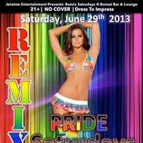 REMIX SATURDAYS PRIDE KICK OFF