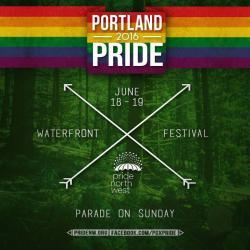 Bi Brigade at Portland Pride 2016