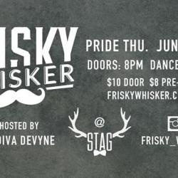 FRISKY WHISKER PRIDE JUNE 16th