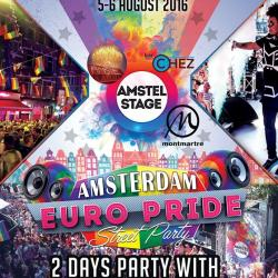 Amstel STAGE EuroPride 2016 Amsterdam Day2