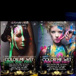 EDEN Friday: Color Me Wet Pride Paint Party