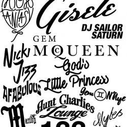 High Fantasy - Gisele Gem McQueen DJ Sailor Saturn Nicki Jizz God's Little Princess Gem N'Aye AFABulous Mandy Coco and Myles