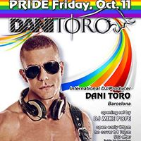 DJ Dani Toro @ Heretic for Friday Pride Party