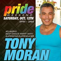 PRIDE at Jungle Atlanta **Atlanta's Best Dance Party with Superstar DJ/Producer Tony Moran**