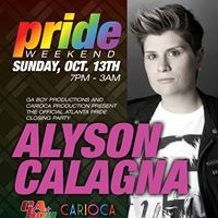 PRIDE at Jungle Atlanta **Official Atlanta PRIDE Closing Party with DJ Alyson Calagna**