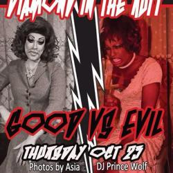 Diamond in the Ruff!! Good vs Evil!!!-tomorrow night-