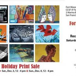 Fort Mason Holiday Print Sale