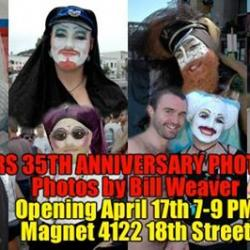 Holy Thursday! Magnet celebrates the 35th anniversary of The Sisters of Perpetual Indulgence!
