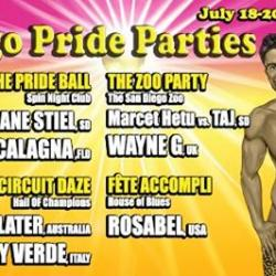 The San Diego Pride Parties by Bill Hardt Presents