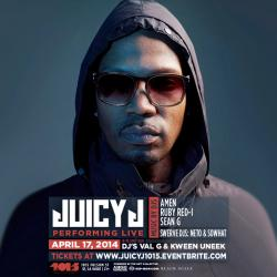 This Thursday! JUICY J - LIVE