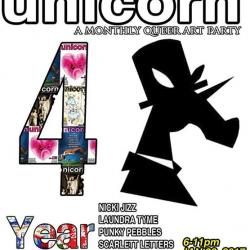 Unicorn: A Monthly Queer Party 4 Year Anniversary!