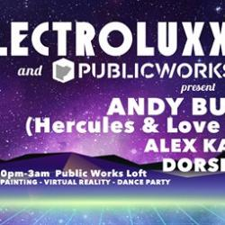 Electroluxx & PW present Andy Butler (Hercules & Love Affair)