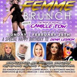 FEMME Brunch with Camille Tow