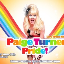TONIGHT: Paige Turner Dinner Show - PRIDE WEEKEND at Level One