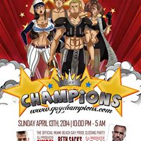 CHAMPIONS  MIAMI BEACH GAY PRIDE