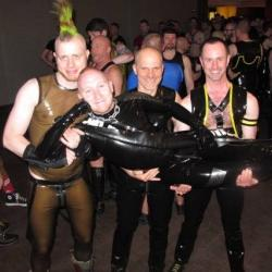 Rubber Meet & Greet at IML2014