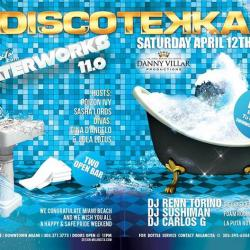MIAMI'S FAMOUS FOAM & WATER PARTY | DISCOTEKKA'S WATERWORKS 11.0 | 3 ROOMS | 6 DJS | 2 OPEN BAR