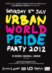 Urban World Pride Party 2012 - Official WorldPride After-Party
