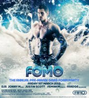 FOMO: the annual Pre-Mardi Gras Foam Party